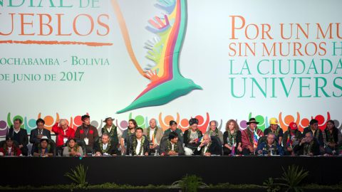 Declaración de la Conferencia Mundial de los Pueblos por un Mundo sin Muros hacia la Ciudadanía Universal