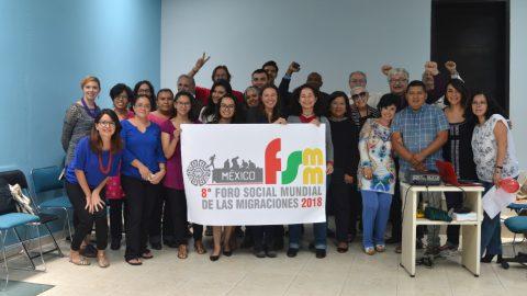 REUNIÓN PREPARATORIA: Arranque del proceso de organización del VIII Foro Social Mundial de las Migraciones, México, 2018