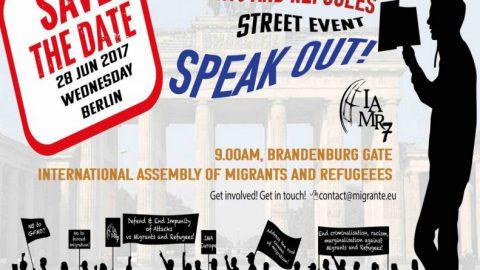Hablando y elaborando puntos desde Berlín (Iglesias con Migrantes)