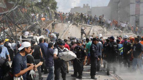 Emergencia y datos importantes sobre el terremoto del 19 de septiembre 2017 en México