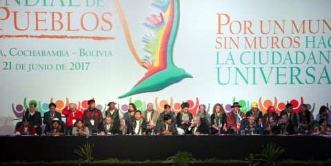 Declaration of the World People's Conference for a World without Walls towards Universal Citizenship
