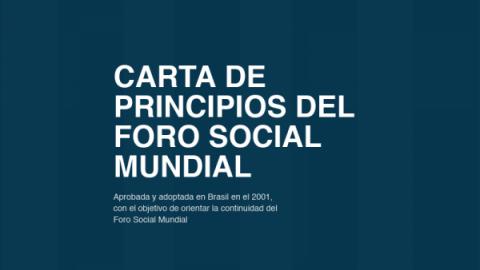Carta de Principios del FSM